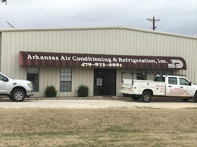 Arkansas Air Conditioning & Refrigeration Trucks